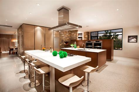 Open Floor Plan Kitchen Dining Living Room  Large And