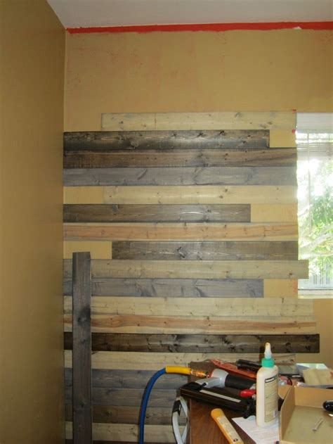 faux wood pallet wall buying inexpensive pine boards