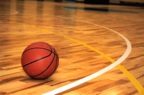 basketball court dimensions clip art