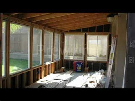 diy patio room youtube