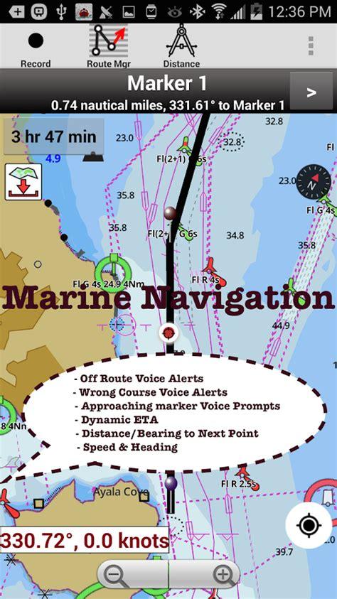 Boat Gps With Charts by I Boating Marine Navigation Maps Nautical Charts