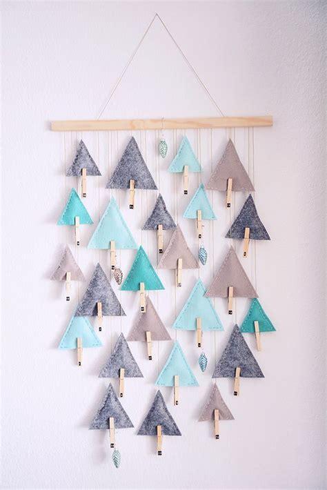 adventskalender für männer diy diy advent calendar triangle trees diy