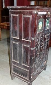 meuble de metier en palissandre xixe antiquites lecomte With charming comptoir des indes meubles 4 meuble de commerce en teck inde xxe antiquites lecomte