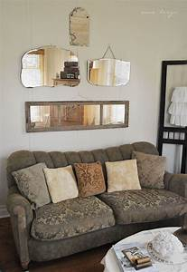 like the mirror layout above the home home decor