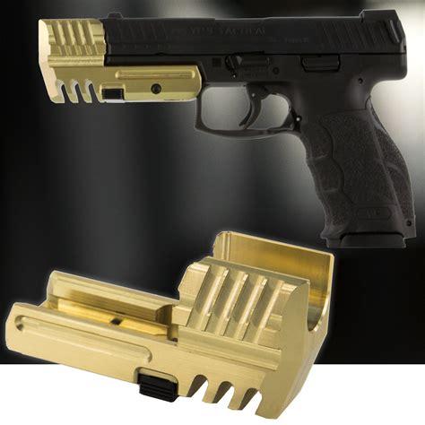 tactical comp weight compensator quick detach brass hk vpvp hkparts
