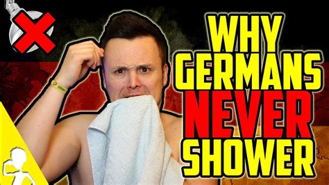 why shower why germans never shower get germanized