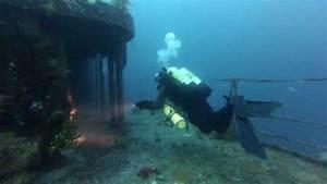 HMNZS Canterbury Wreck Dive - YouTube