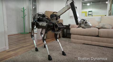 boston dynamics    robot spotmini robohub