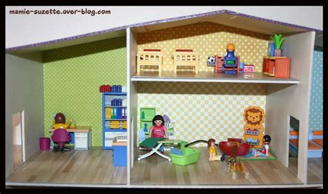 playmobil chambre des parents cartonnage le de mamie suzette com