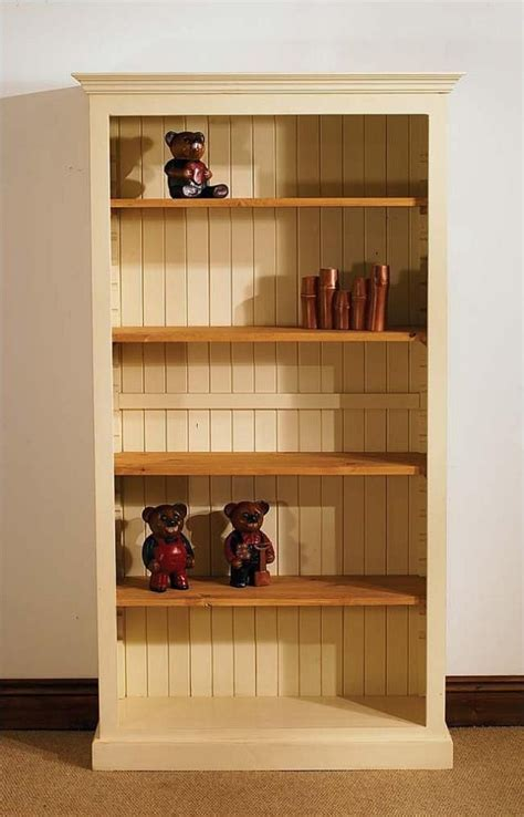Pine Bookcase Pictures   painted bookcases   stained