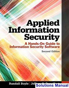 Solutions Manual For Applied Information Security A Hands