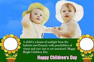 Celebrations Greetings - Children's Day [NOV 14 ...