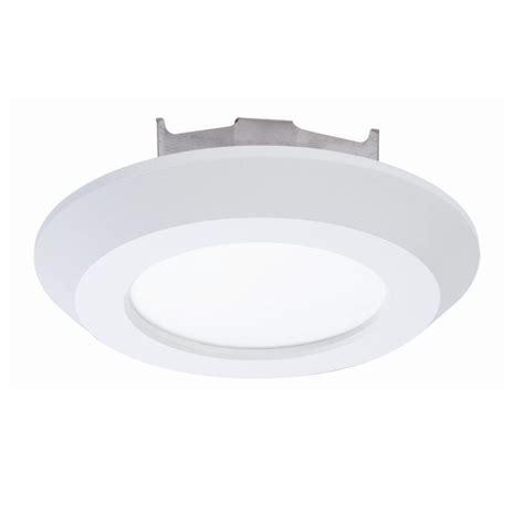 led surface mount disk light halo 4 in matte white recessed led surface 3000k disk
