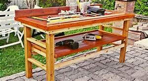 Banco da lavoro fai da te in legno Come costruirlo senza incastri