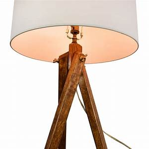 39 off restoration hardware restoration hardware wood for Used wood floor lamp