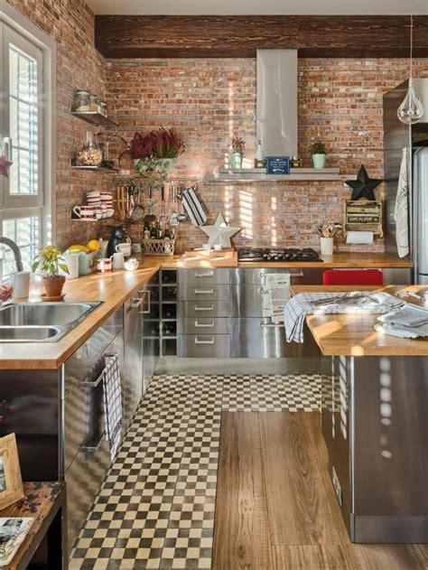salon de la cuisine les 25 meilleures idées de la catégorie murs de briques
