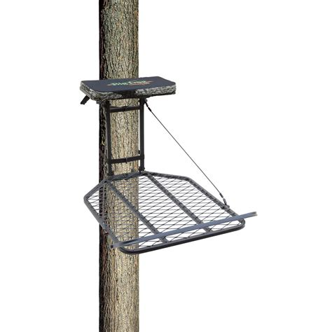 big dog bearcat hang on tree stand bdf 401 649064 hang on tree stands at sportsman s guide