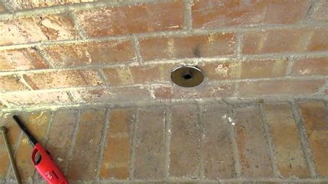 fireplace gas valve leaking   dallas home inspector