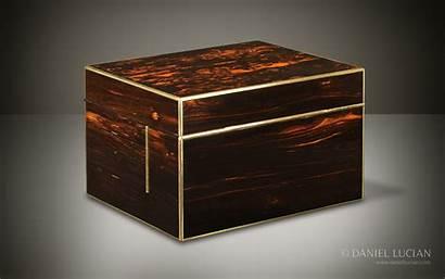 Box Antique Jewellery Asprey Coromandel Betjemann Mechanism