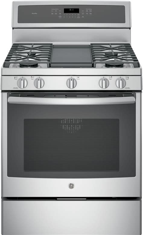 GE PGB911 30 Inch Freestanding Gas Range with Chef Connect