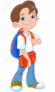 Students Going To School Clipart - ClipartXtras