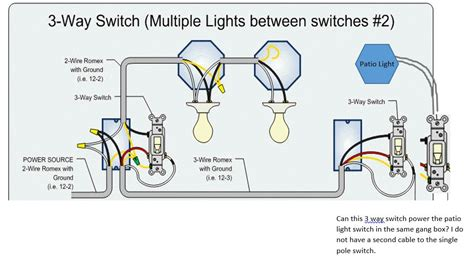 Can Power Single Pole Switch From The End Way