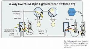 3 Single Pole Switch Wiring Diagram