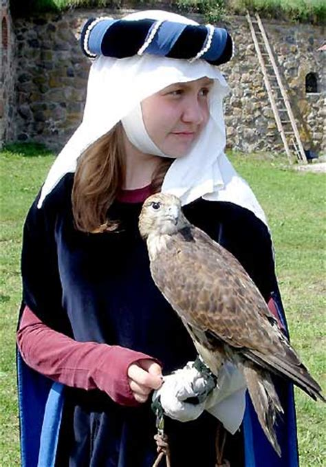 A Medieval Falconry Hunter