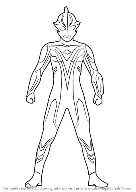 Coloring Ultraman by Ultraman Taro Free Coloring Pages