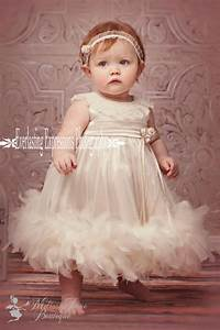 Cute Baby Feather Dress