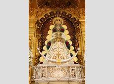 La Virgen del Rocío luce nueva saya con motivo de la Candelaria 2015 Rociocom