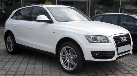 Audi Q5 Picture by File Audi Q5 Front 20090404 Jpg