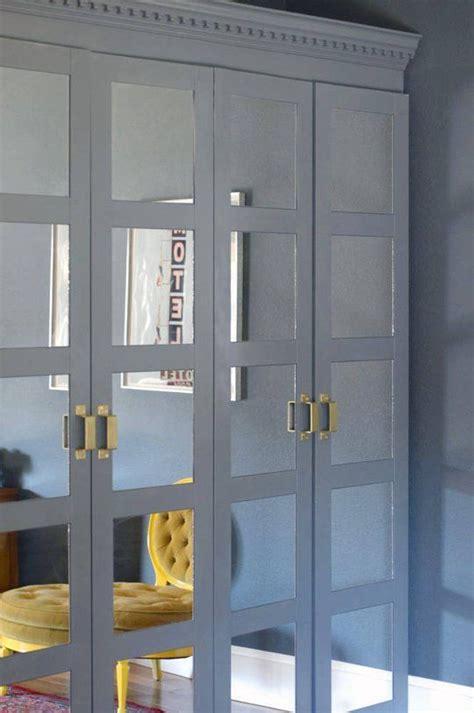 Ikea Spiegel Fliesen by Ikea Hack Mirror Tiles Crown Molding And Door Pulls