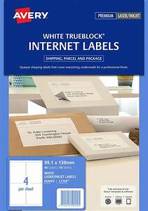 internet shipping labels 959402 avery australia With avery internet shipping labels