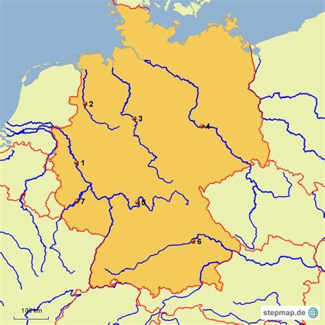 deutschland landkarte flasse fli