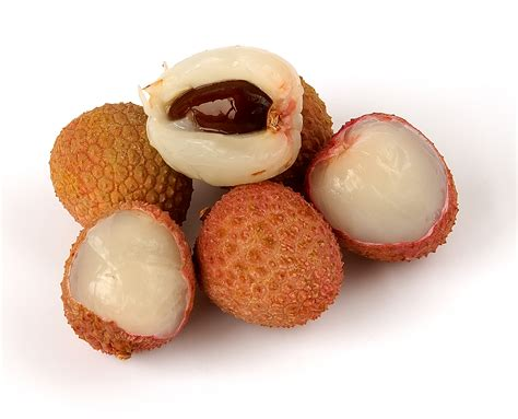 lychee fruit peeled litchi leechee lychee