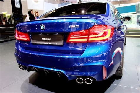 2018 Bmw M5 Shines At The Dubai Motor Show