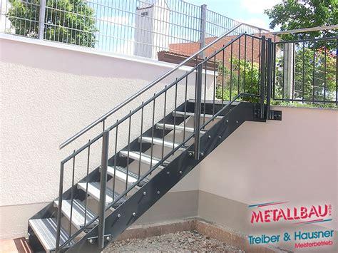 Außentreppe Aus Stahl by Metallbau Treiber Hausner Innentreppen