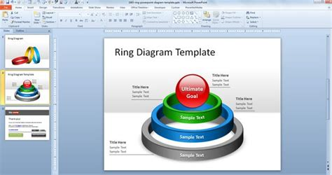 smartart powerpoint templates free ring powerpoint diagram template free powerpoint