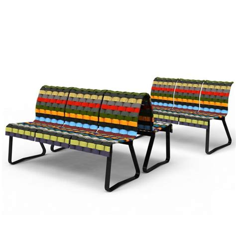 Panchine Pubbliche by Stratified Seating Panchine E Sedute Pubbliche