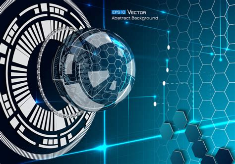 future technology background creative design