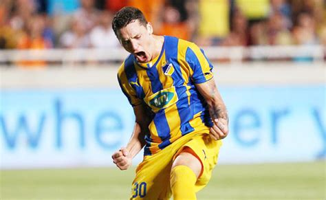 APOEL aiming for positive result in play-off first leg ...