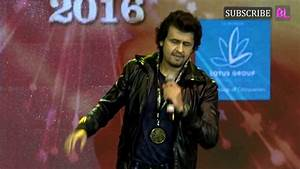 Sonu Nigam | 23rd SOL Lions Gold Awards 2017 - YouTube