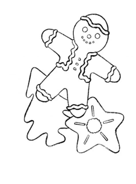 This gingerbread man coloring sheet is perfect for a class party or class gift for your little one's friends! Christmas Cookies | Coloring Pages To Print