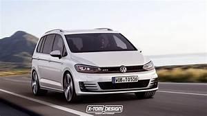 Touran Tuning : volkswagen touran gti rendering looks awkwardly good autoevolution ~ Gottalentnigeria.com Avis de Voitures