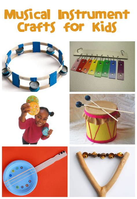 musical instrument crafts family crafts 832 | musical instrument crafts