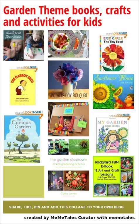 garden theme books crafts  activities  kids