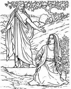 38 Angel Appears To Mary Coloring Page 1 References For