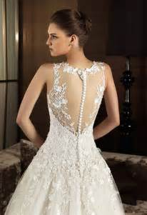 wedding dresses lace vintage lace wedding dress with open back sang maestro