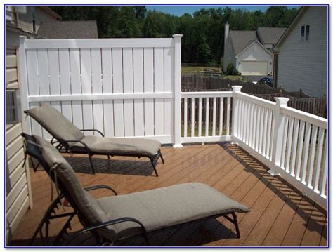 deck railing ideas for privacy deck railing designs privacy decks home decorating